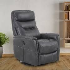 Colby Swivel Glider Power Recliner  Grey Beige Brown   Manual Power    Retail 562 99