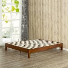 Porch   Den leonidas Monticello 12 inch Wood Full size Platform Bed only Retail 176 99 cherry