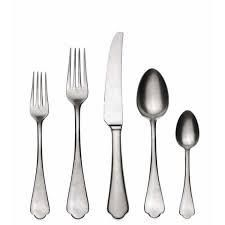 20 piece Stainless Steel Dolce Vita Flatware Set  Service for 4  Retail 296 00