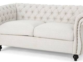 Pasillas 61 75  Flared Arm loveseat By House of Hampton Retail  569 99