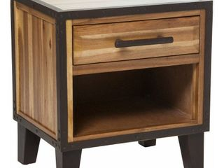 luna Acacia Wood End Table by Christopher Knight Home  Retail 153 49