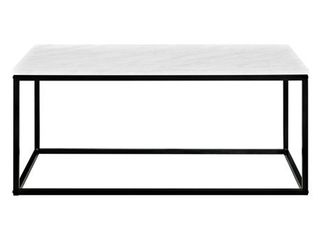 Carbon loft Geller Metal Frame Coffee Table   42 x 24 x 18h  Retail 144 49