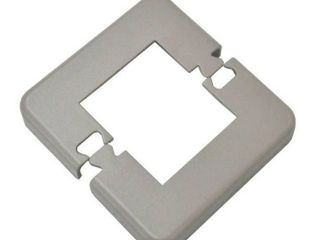 Classic Aluminum Railing Systems White Base Plate Cover