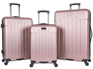 3 Piece Set Suitcase ABS lightweight Spinner Suitcase  20    24    28  Retail 105 49