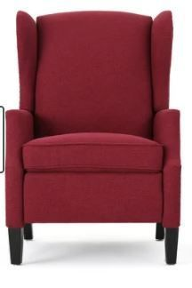 Wescott Contemporary Fabric Recliner by Christopher Knight Home Retail 604 00