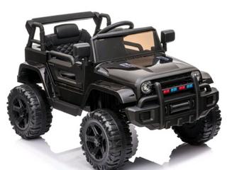 12V Kids Ride On Car SUV MP3 RC Remote Control lED lights Black  Retail 286 99
