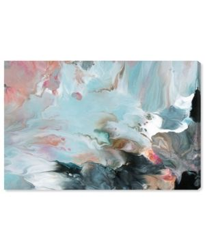 Oliver Gal  Dreaming in Colors  Abstract Wall Art Canvas Print   Blue  Pink   Retail 207 00