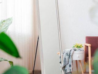 Modern Freestanding Full length Floor Mirror   64 17x21 26