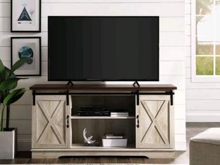 The Gray Barn Wind Gap 70 inch Sliding Barn Door TV Console  Retail 490 49