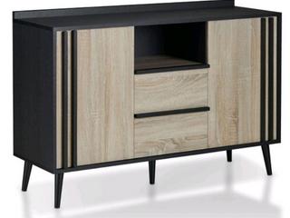 Carson Carrington Hitra Mid century 70 inch TV Panel  Retail 155 99