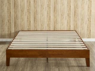 Porch   Den Neron 12 inch Deluxe Wood Queen size Platform Bed  Retail 193 99