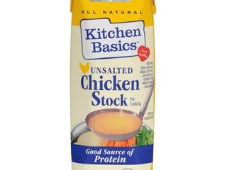 Case of CHICKEN STOCK FOR COOKING  UNSAlTED