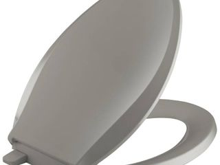 Kohler K 4636 K4 Grip Tight Cachet Q3 Elongated Toilet Seat  Cashmere