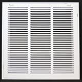 18 x 18 RETURN FIlTER GRIllE   Easy Air Flow   Flat Stamped Face