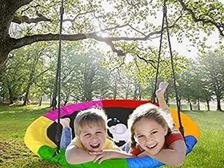 Joychoic Tree Swing Extra large 40  Diameter Outdoor Tree Swing