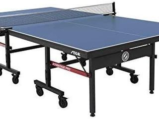 STIGA Advantage Pro Tournament Quality Indoor Table Tennis Table 95  Preassembled Out of the Box with Professional level Net and Post Set