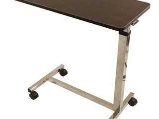 Roscoe Non Tilt Overbed Table  Brown