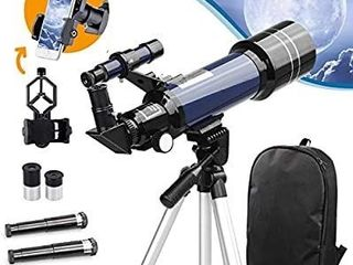 USCAMEl Telescope for Kids and Beginners 70mm Aperture Astronomy Telescope