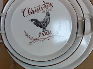 Christmas Serving Tray 3 Set