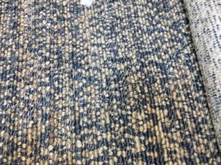 Green Decore Jute Rug Navy Natural