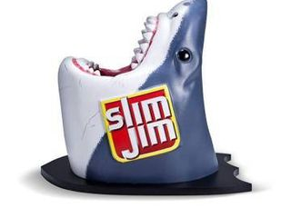Slim Jim limited Edition Shark Head Counter Display