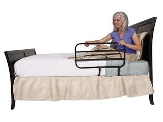 Able life Bed Assist Rails   Black