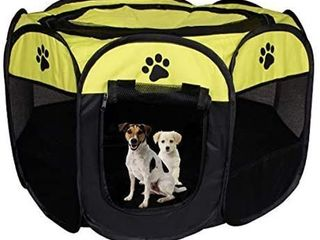 Meiying Pet Dog Cat Playpen Cage Crate
