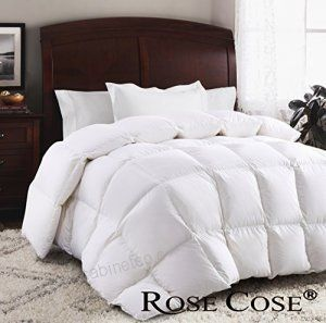 ROSECOSE luxurious Goose Down Comforter King Duvet