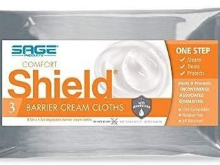Comfort Shield Care Wipe Soft Pack  Unscented  3 Count Pack  50 Packs 7502   Box of 150 Wipes