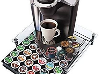 Coffee Capsule Holder for Nescafe Dolce Gusto  HiveNets Tempered Glass Platform