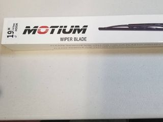 MOTIUM OEM QUAlITY 19    19  J Hook All Season Windshield Wiper Blades