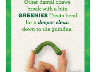 Greenies Original Petite Natural Dental Dog Treats