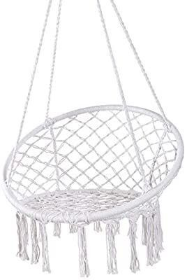 Hammock Chair Macrame Swing   Max 330 lbs