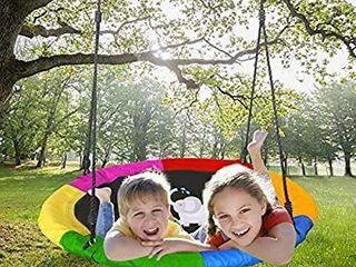 Joychoic Tree Swing Extra large 40  Diameter Outdoor Tree Swing