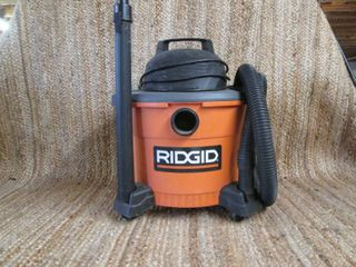 Ridgid 9 Gallon Shop Vac On Wheels ...