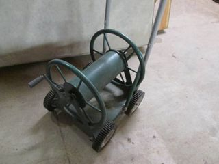 Heavy Duty 4 Wheel Hose Reel Cart {9}