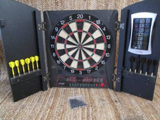Halex Electronic Dart Board Game Wi...