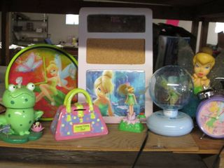 Tinkerbell Clocks, Lights, Corkboar...