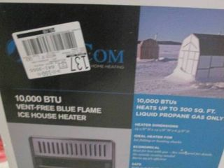 10,000 BTU Ice House Heater *Untest...