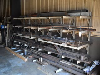 Rack including Miscellaneous Steel inventory
