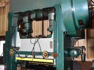 Mechanical Straght-Side Press 100-Ton (not under power)