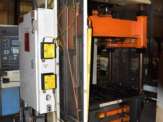 4-Post Hydraulic Trim Press (not under power)