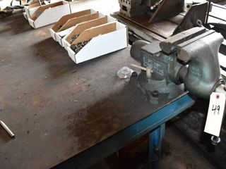 Wilton Vise with workbench