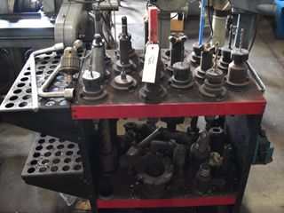 Toolholder cart with Misc Toolholders