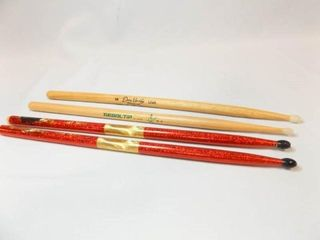 Drumsticks  4    with name or signature