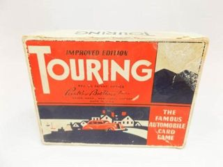 Touring Card Game   maybe 1947