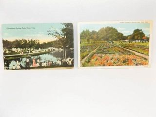 Postcards  Enid  OK  Government Springs Park  2