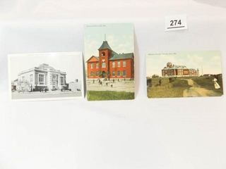 Postcards  Enid  OK  Schools  library  3