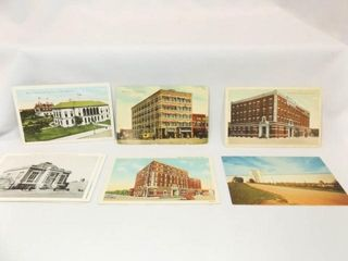 Postcards  Enid  OK  Buildings  11