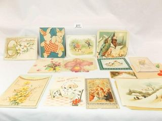Vintage Cards  12  some signed